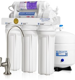 apec ultimate ro ph90 top tier supreme certified alkaline mineral ph high output 90 gpd 6 stage ultra safe reverse osmosis drinking water filter system [ 2205 x 2205 Pixel ]