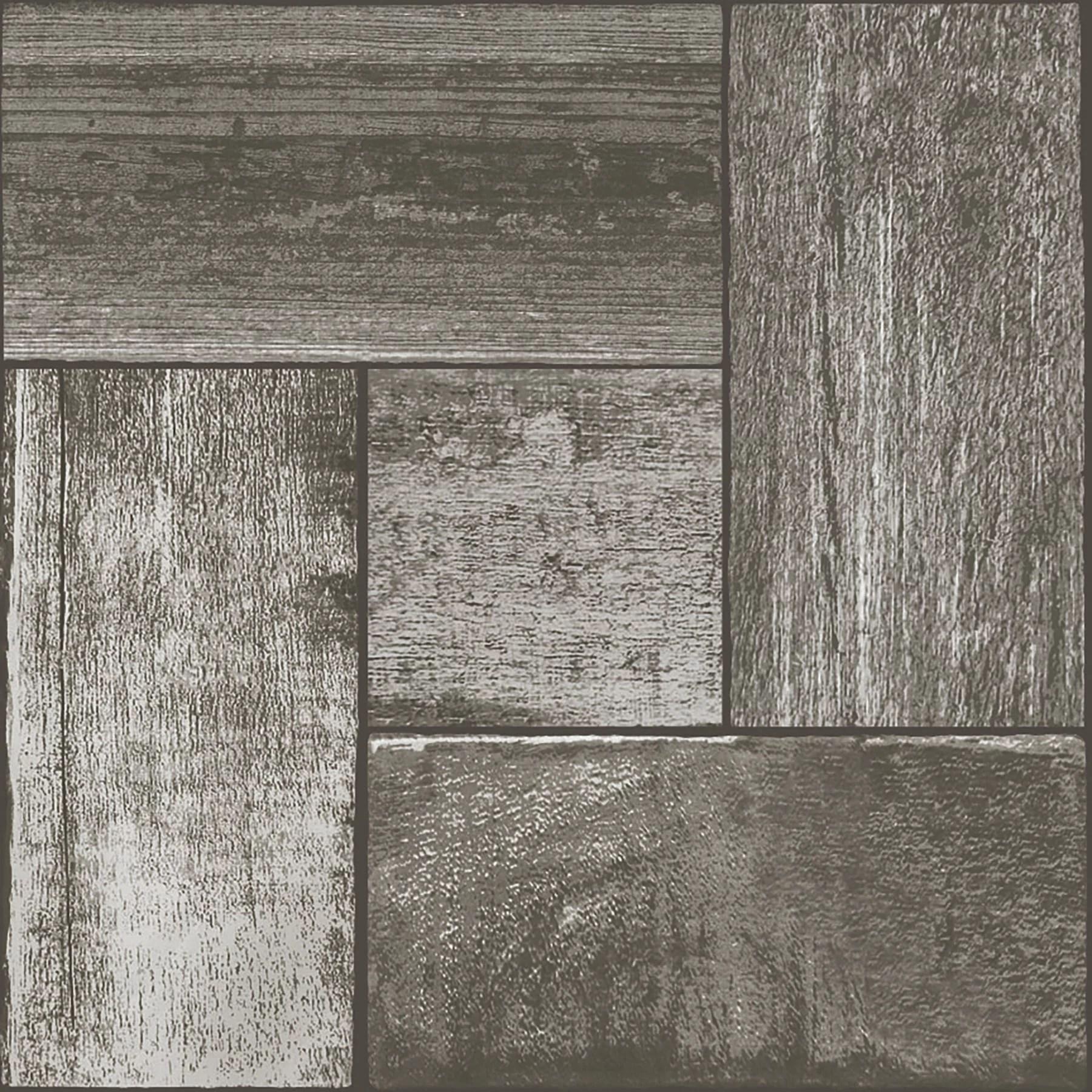floorpops northwoods 12 in x 12 in peel and stick virgin vinyl floor tiles 10 pack