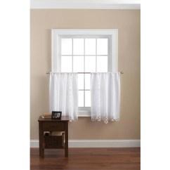 Curtains Kitchen Buffet For Sale Mainstays Battenburg White Lace Set Of 2 Walmart Com