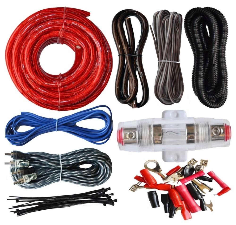 medium resolution of soundbox connected 4 gauge amp kit amplifier install wiring complete 4 ga wire v