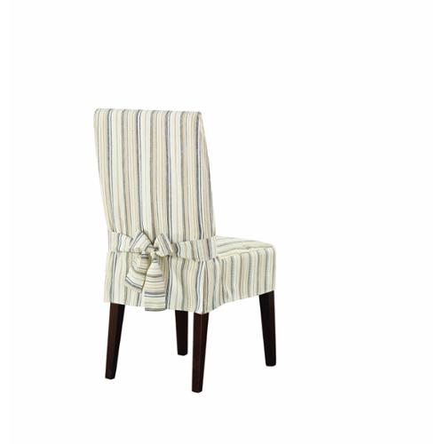 striped chair covers dining rooms ebay party sure fit harbor stripe room cover walmart com