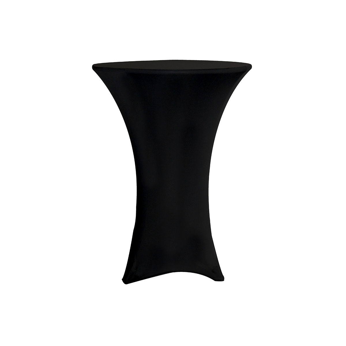 party chair covers walmart mid century recliner uk your 30 inch highboy cocktail round stretch spandex table cover black for wedding birthday patio etc com