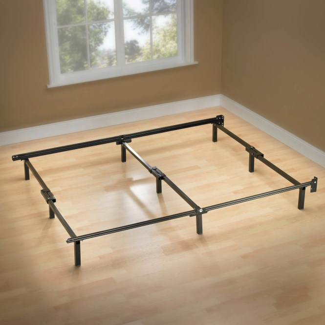 Spa Sensations 7 Low Profile Adjule Steel Bed Frame Easy No Tools Assembly Multiple Sizes