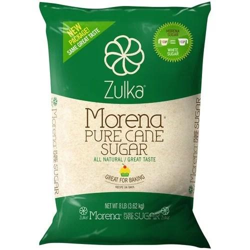 Zulka Pure Cane Sugar 128 Oz  Walmartcom