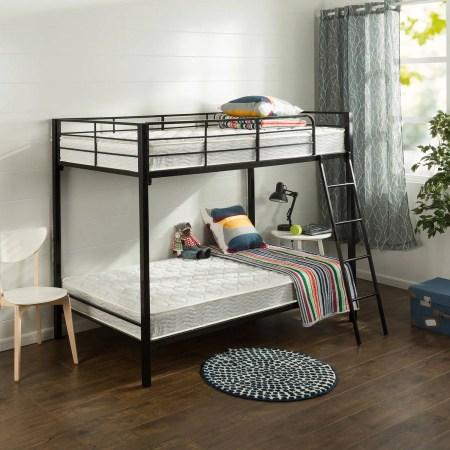 Slumber 1 6 Comfort Twin Pack Bunk Bed Spring Mattress