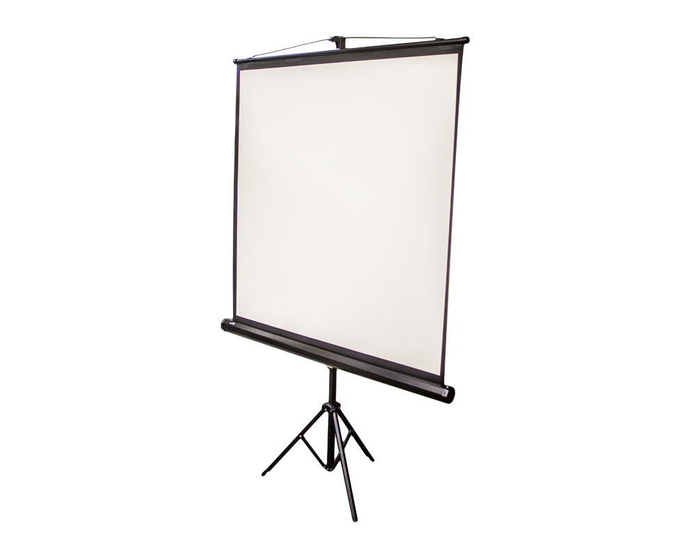 NavePoint 67 Inch 1:1 Manual Projection Projector Screen