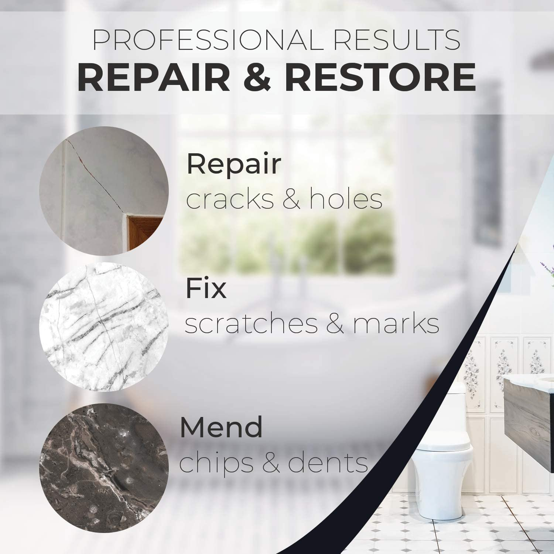 tile repair kit stone repair kit porcelain repair kit for cracked stone crack chip ceramic floor tile gap filler repair tile paint granite