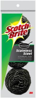 Scotch-Brite Stainless Steel Scouring Pad Heavy Duty Scour ...