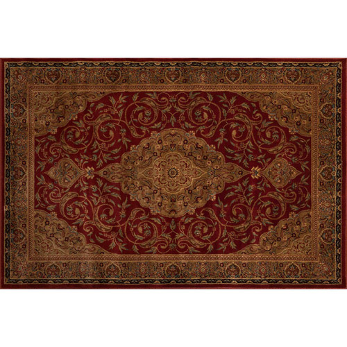 Better Homes and Gardens Gina Area Rug Garnet Red