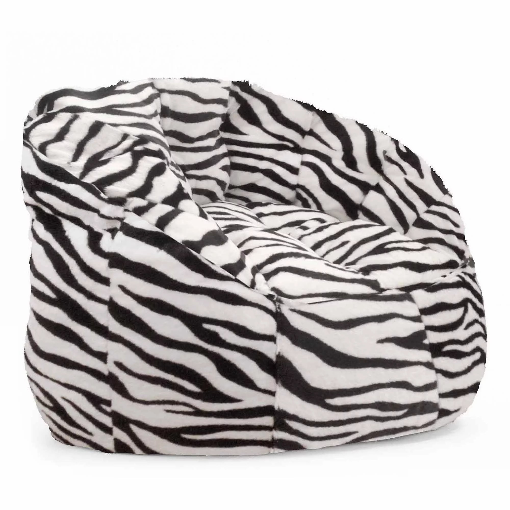 Beanbag Chairs Cocoon Faux Fur Bean Bag Chair Multiple Colors