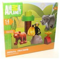 Animal Planet 14 pc Set Animal Friends Junior Building ...