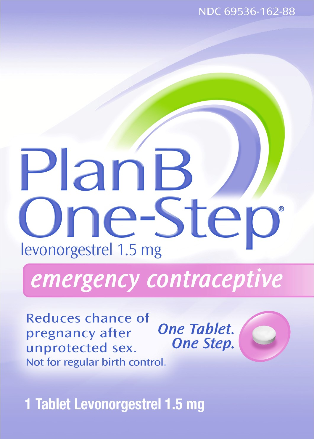Plan B One-step Emergency Contraceptive 1 Tablet1.5 mg ...