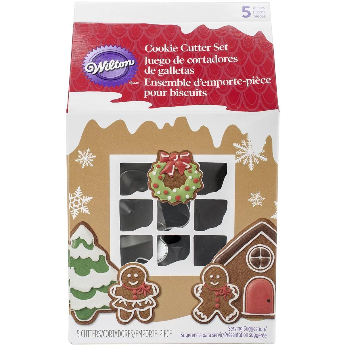 Wilton Vintage Christmas Cookie Cutter Set  Walmartcom