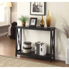 Walmart Living Room Tables Formal Convenience Concepts Oxford Console Table Multiple Colors Com