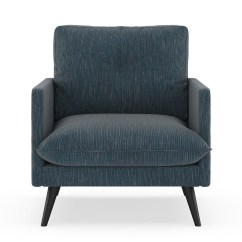 Remy Side Chair Review Rifton Wood Armchair Twilled Weave Navy Gray Walmart