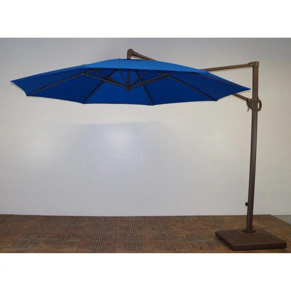 Shade Trends 11 Ft. Trigger Lift Cantilever Offset Umbrella