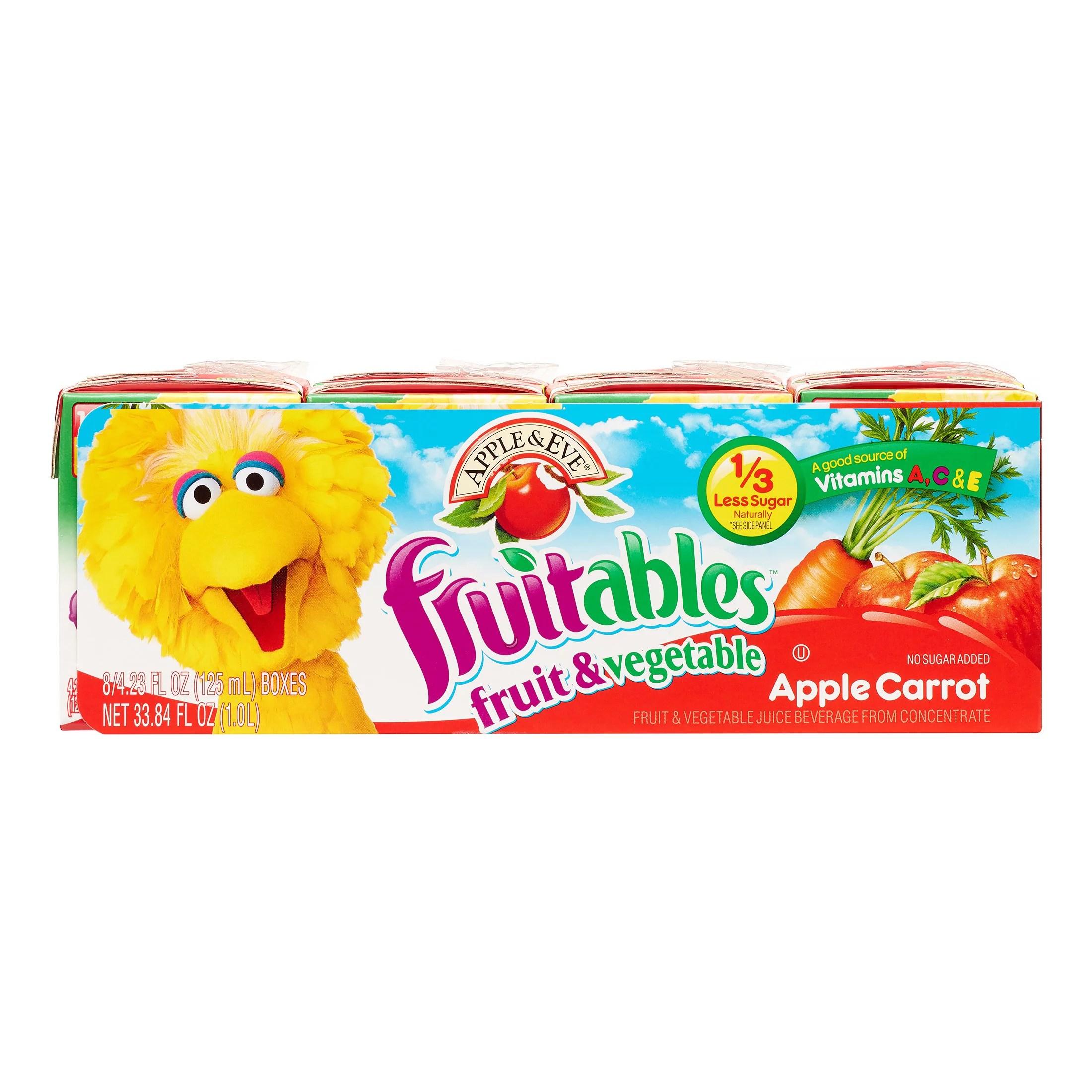 Apple Eve Fruitables Juice Apple Carrot 423 Fl Oz