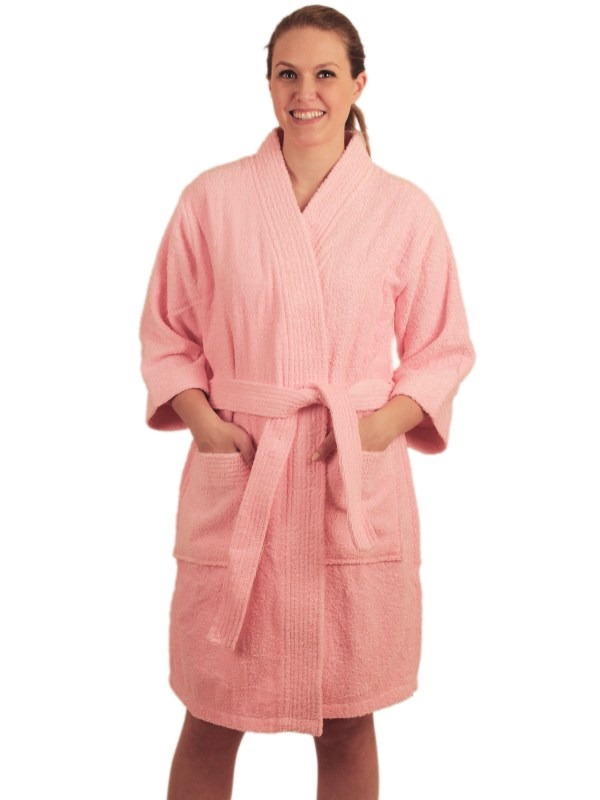 Ndk York - Women' Terry Cloth Short Robe