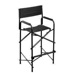 Tall Director Chair American Girl Salon E Z Up Directors Black Walmart Com