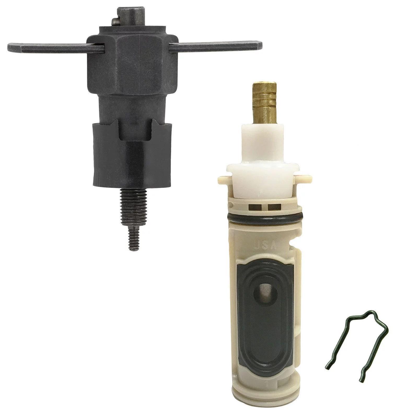 replacement kit 1222 1222b cartridge moen faucet includes puller tool walmart com