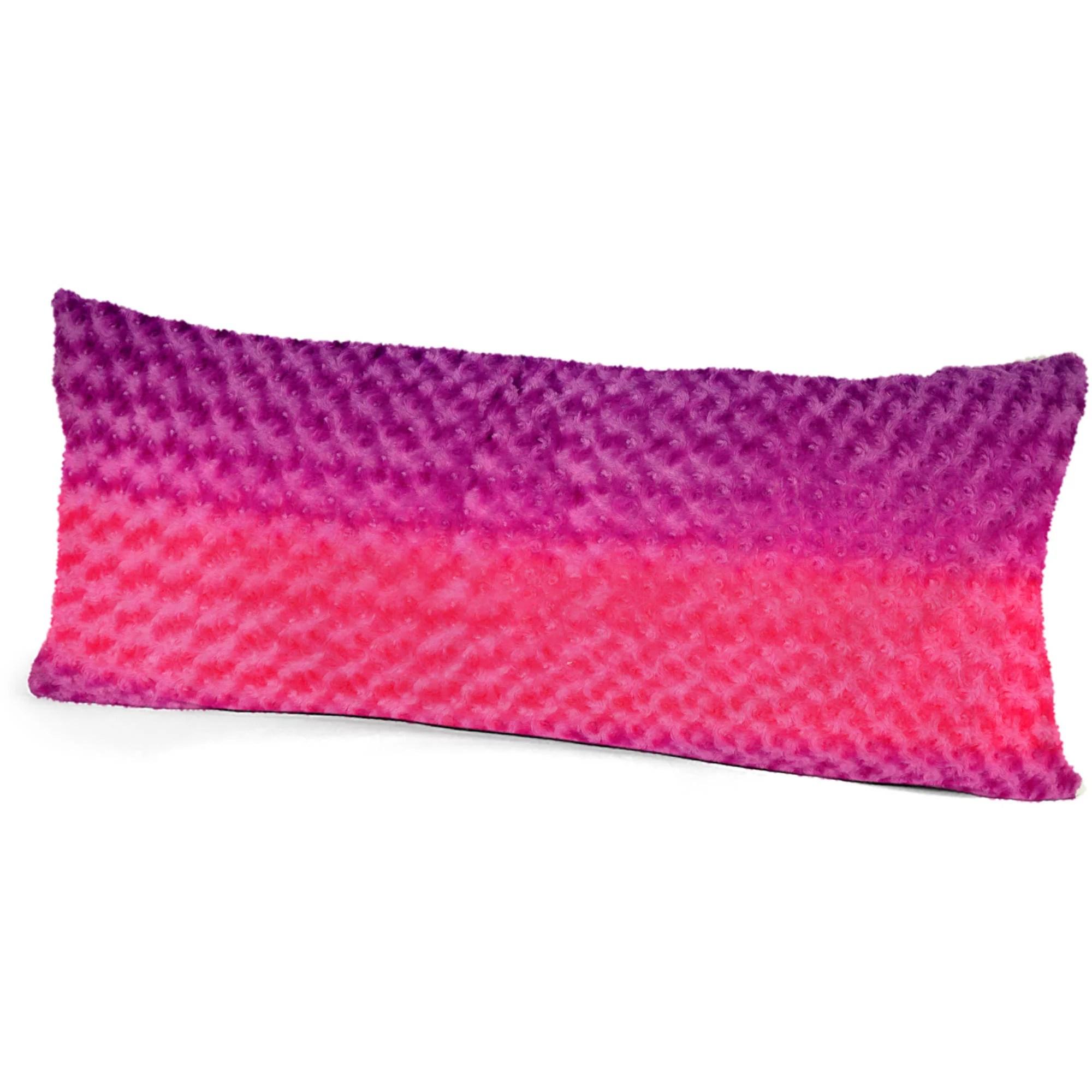 Your Zone Ombre Fur Body Pillow  Walmartcom