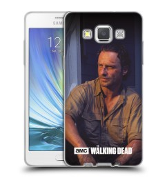official amc the walking dead filter character soft gel case for samsung phones 2 [ 1600 x 1600 Pixel ]