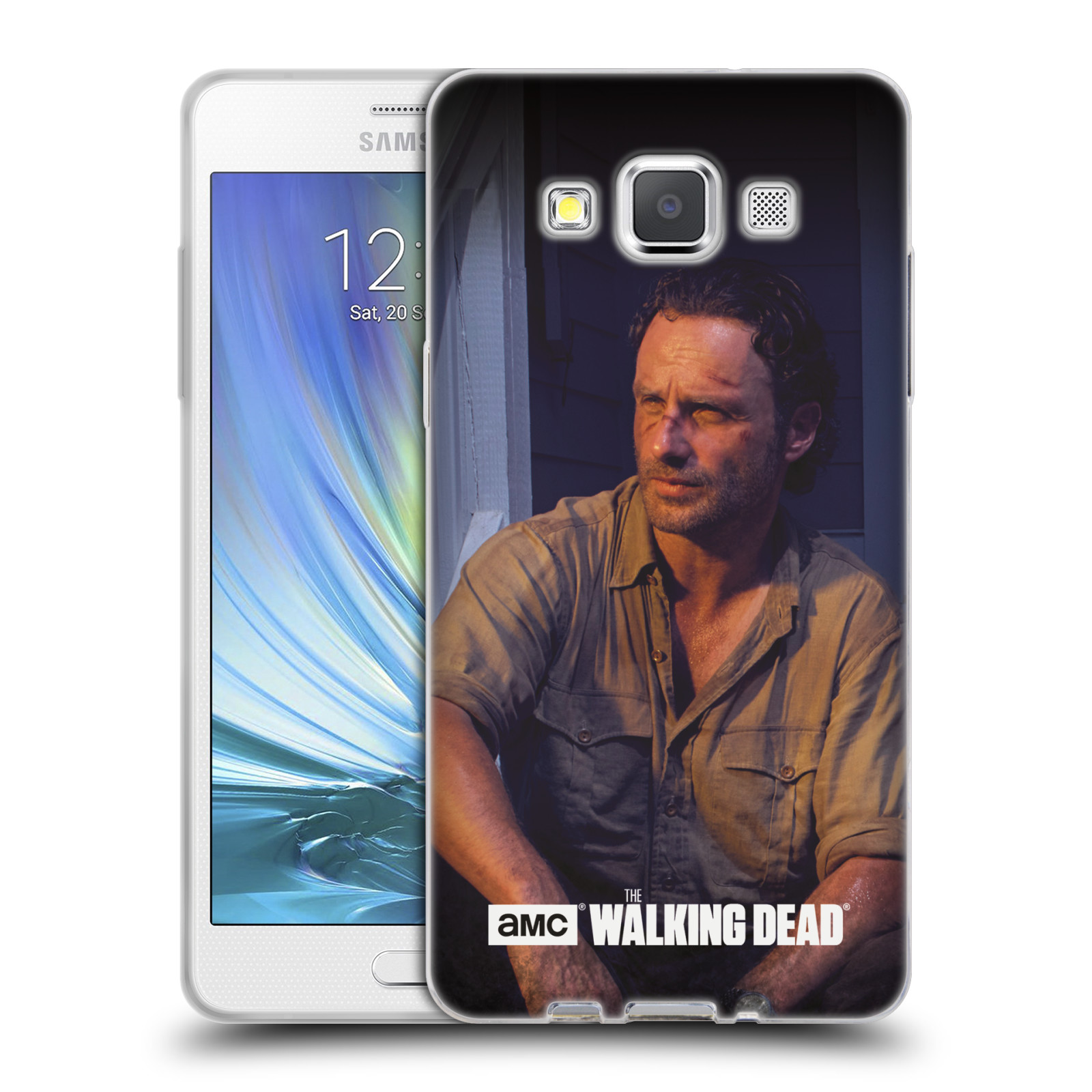 hight resolution of official amc the walking dead filter character soft gel case for samsung phones 2