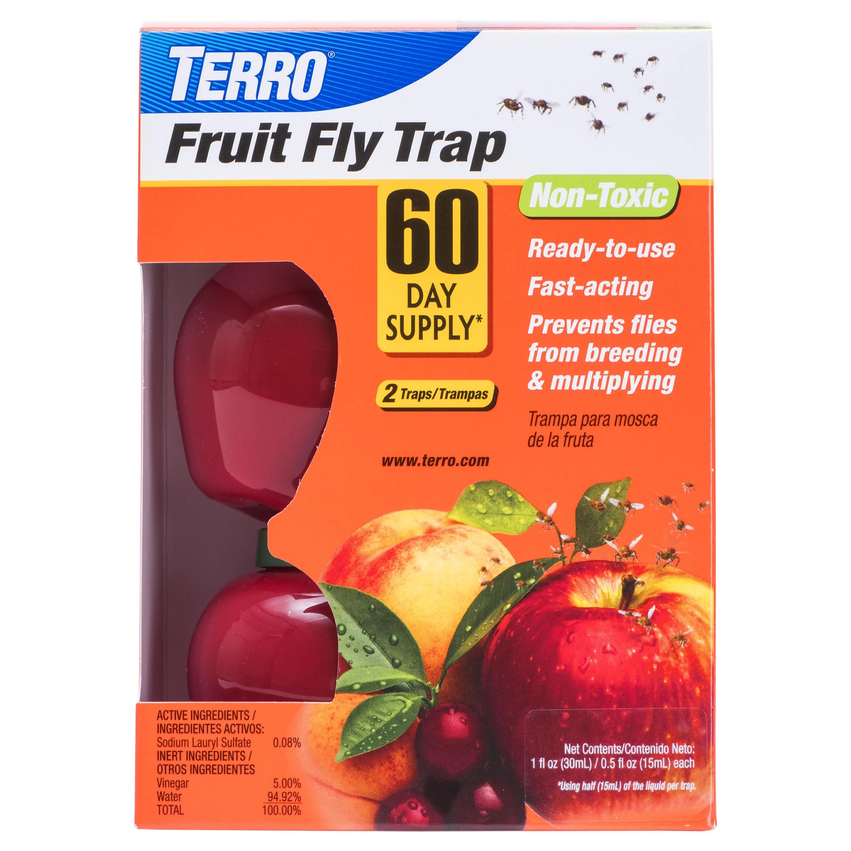 Terro Fruit Fly Traps 2 ct - Walmart.com