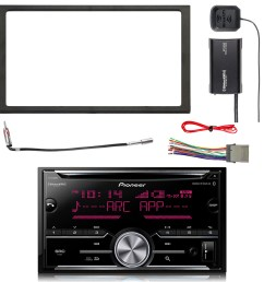 pioneer double din cd bluetooth siriusxm ready receiver siriusxm satellite radio tuner kit double din install dash kit stereo wiring harness  [ 1600 x 1600 Pixel ]