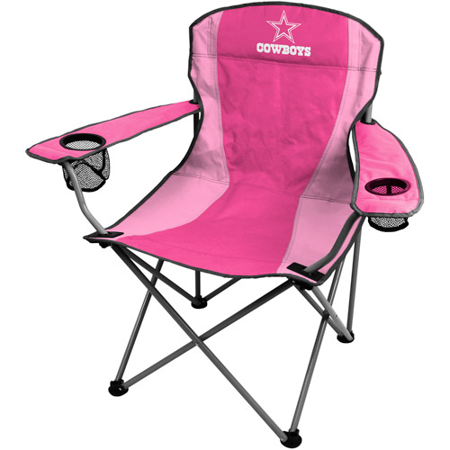 dallas cowboys folding chairs chair covers for parties rentals rawlings pink walmart com