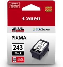 canon pg 243 black ink cartridge [ 2000 x 2000 Pixel ]