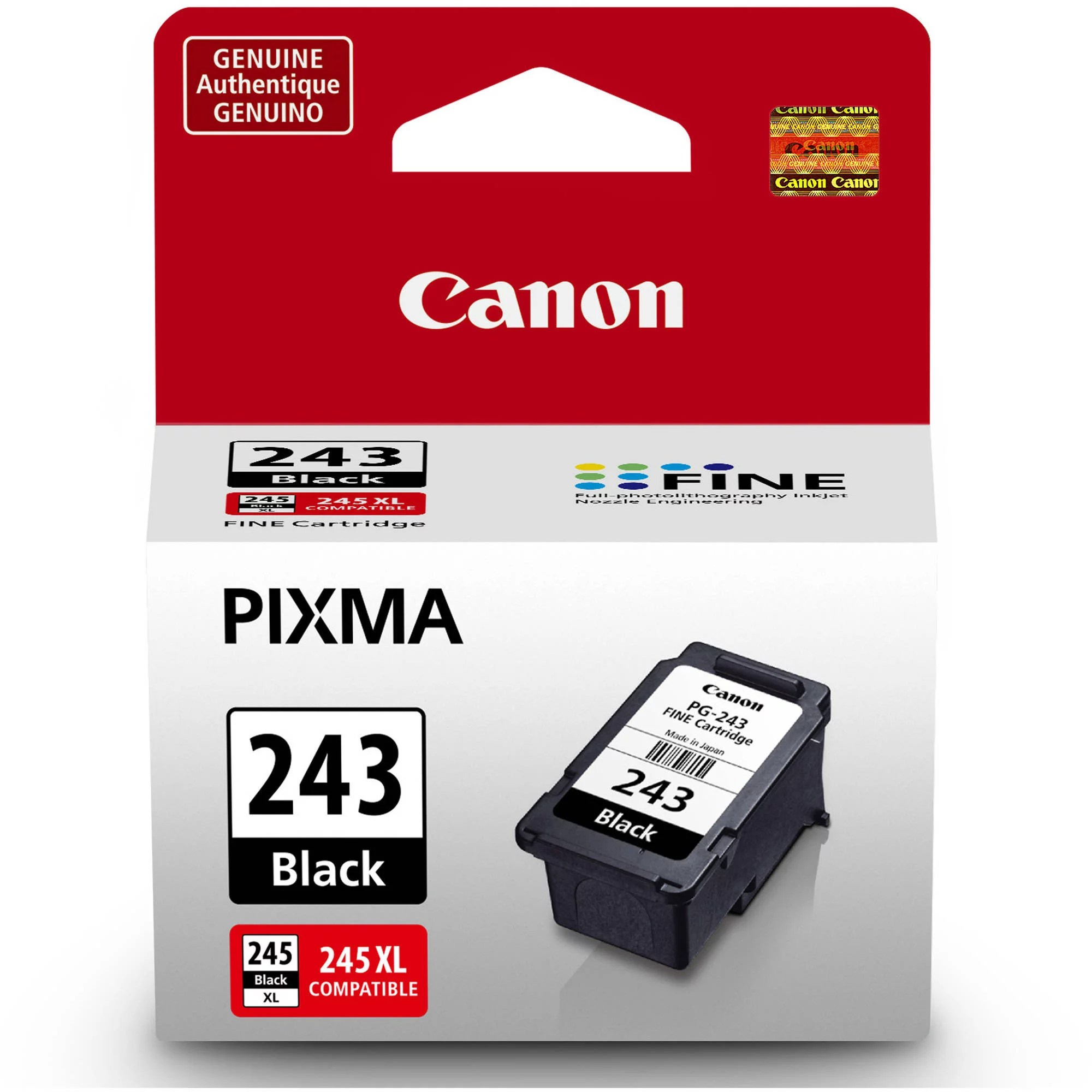 hight resolution of canon pg 243 black ink cartridge