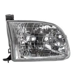 tyc 20 5767 00 1 right headlight assembly for 2000 2004 toyota tundra to2503129 walmart com [ 1500 x 1500 Pixel ]