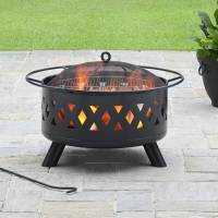 "Better Homes and Gardens 28"" Lattice Heavy Duty Fire Pit ..."