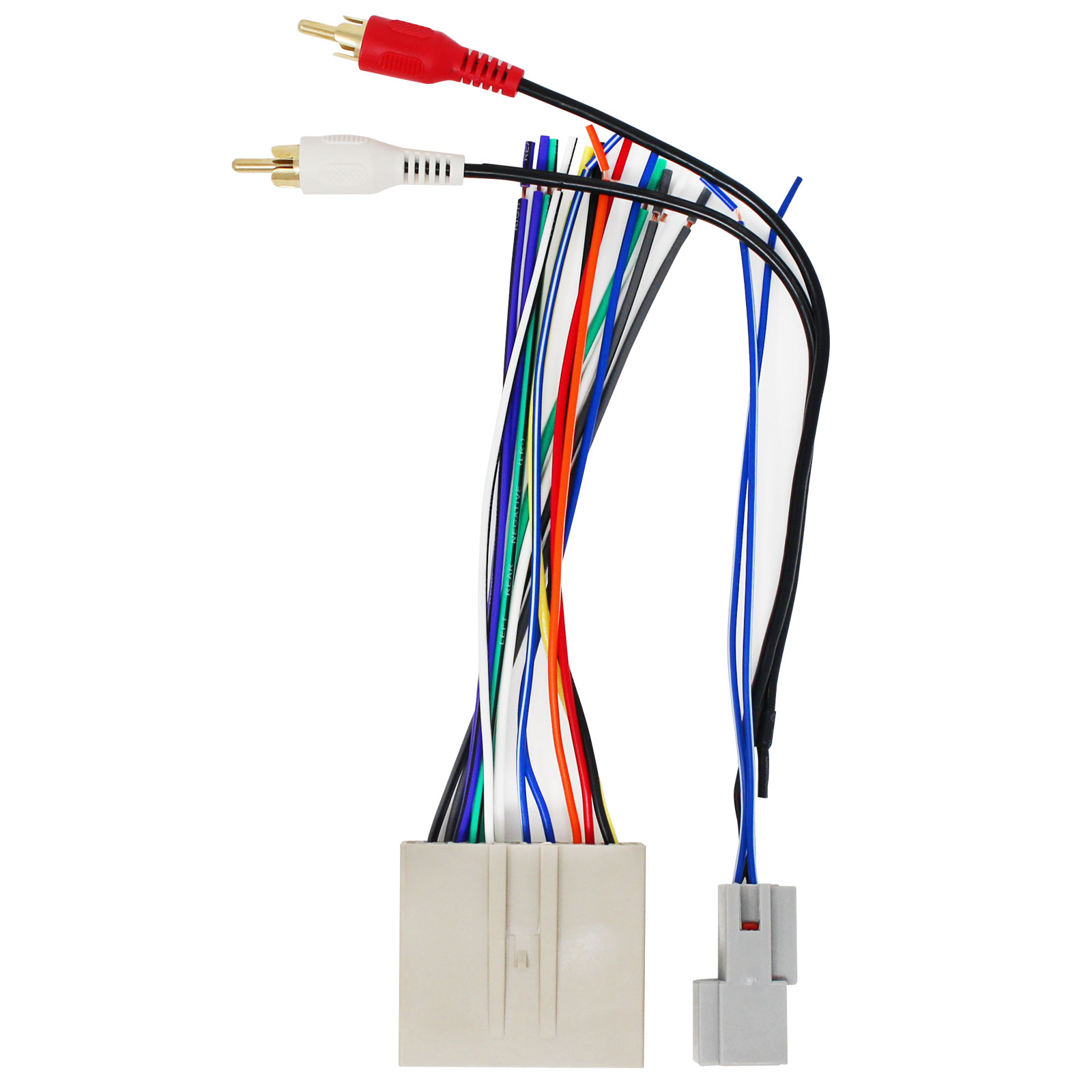 replacement radio wiring harness for 2005 ford escape 2003 ford 2008 ford explorer wiring harness [ 1600 x 1600 Pixel ]