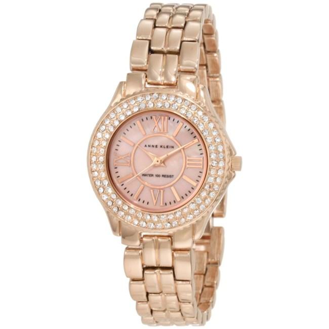 Anne Klein Women's 10-9536RMRG Rose-Gold Stainless-Steel Quartz Fashion Watch