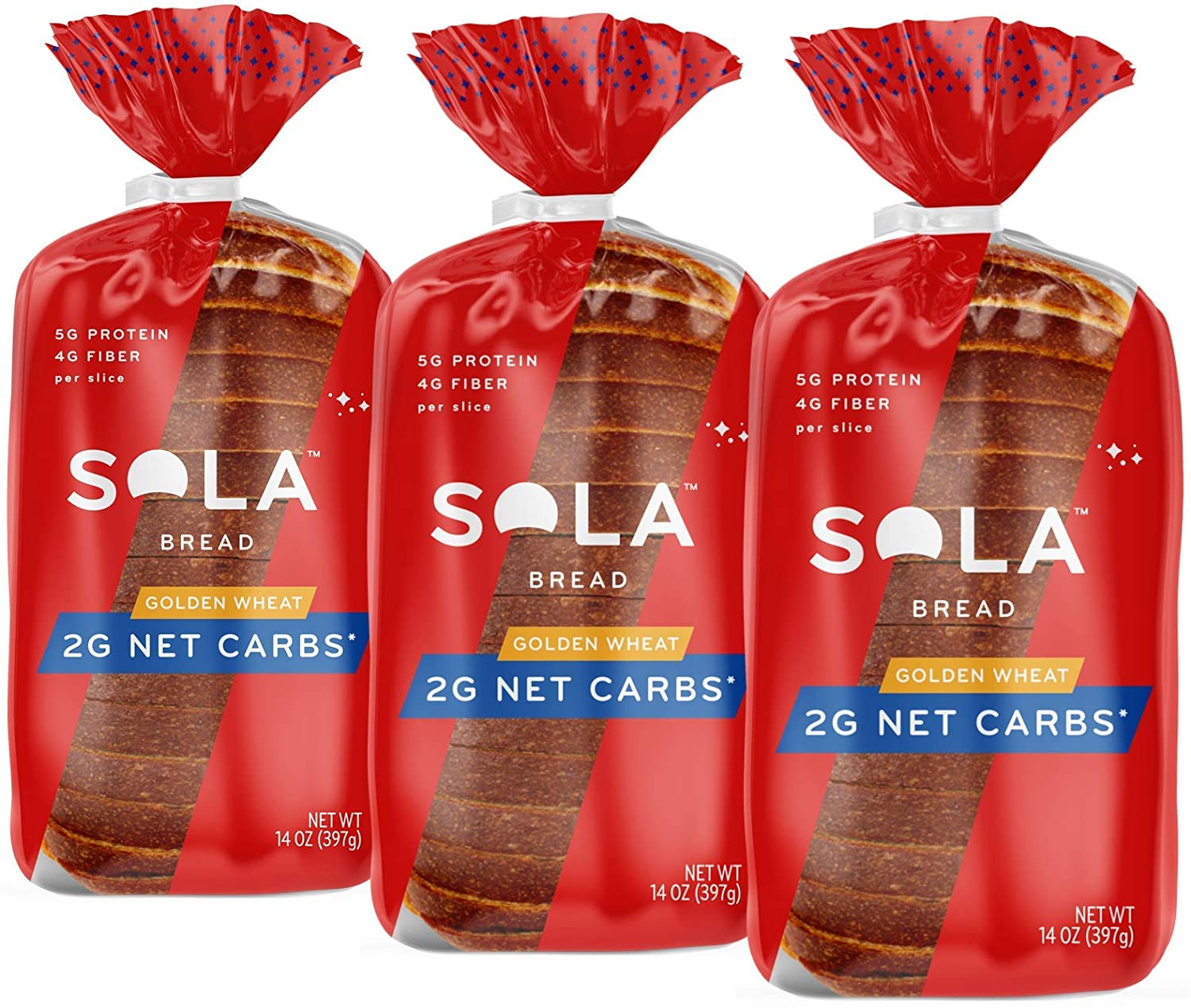 Sola Golden Wheat Bread – Low Carb Low Calorie Reduced ...