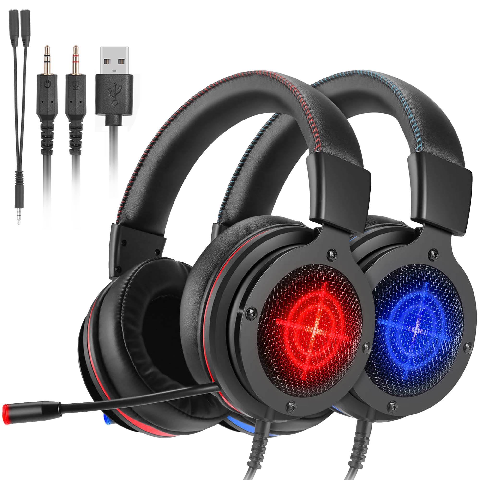 Gaming Headset For Ps4 Xbox One Nintendo Switch Oddgod