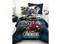 MARVEL Jay Franco Avengers 3 Piece Comforter Set Full Size ...