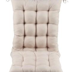 Rocking Chair Pad Set Aeron Head Rest Microfiber Cushion By Oakridgetm Walmart Com