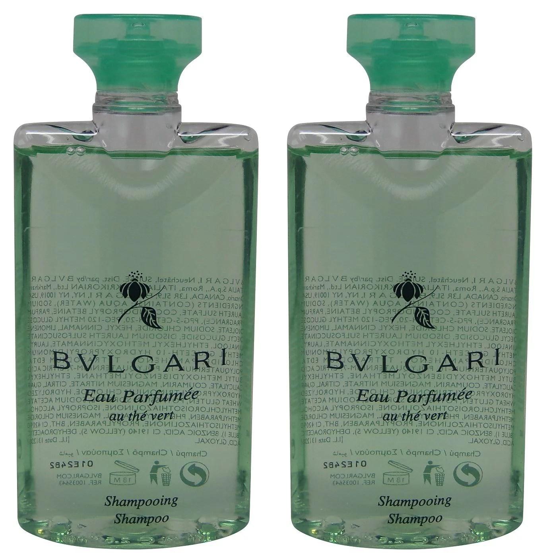 Bulgari - Bvlgari au the vert Green Tea Shampoo lot of 2 each 2.5oz Total of 5oz - Walmart.com