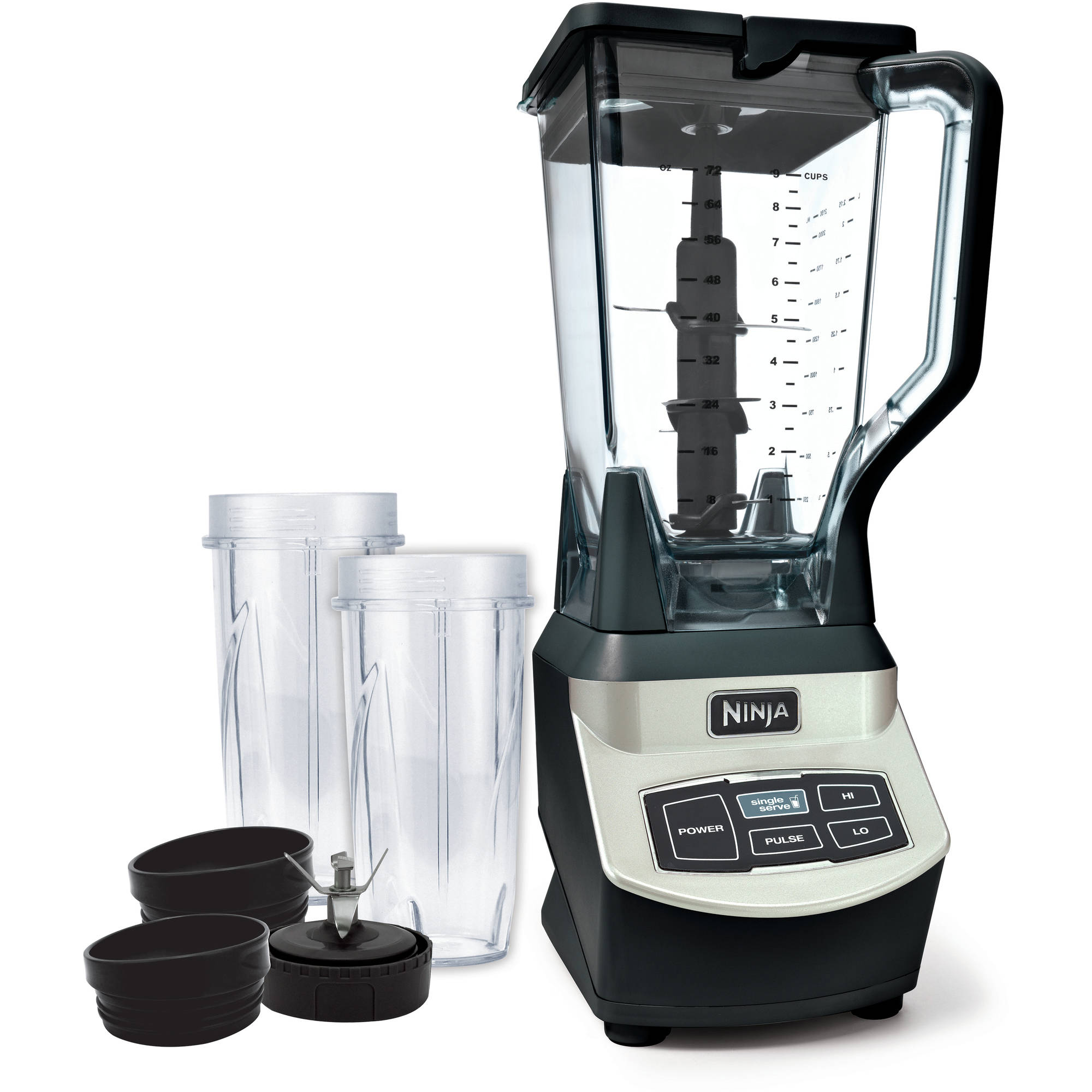 walmart ninja mega kitchen system large table new bl773co 1500w food processor