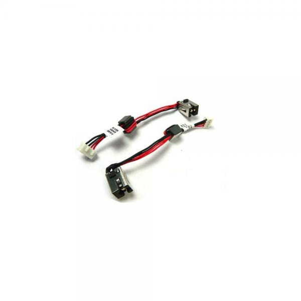 new ac dc power jack plug socket cable harness for toshiba