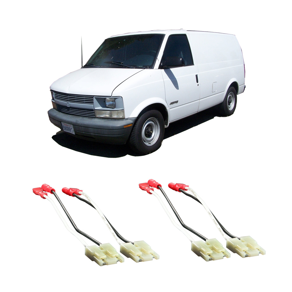 hight resolution of chevy astro van 1985 1990 factory speaker replacement connector harness package walmart com