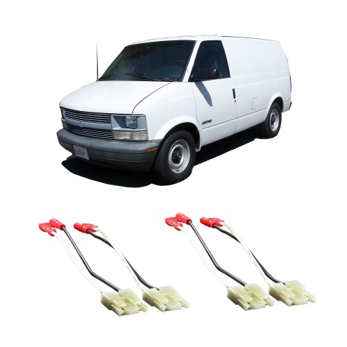 small resolution of chevy astro van 1985 1990 factory speaker replacement connector harness package walmart com