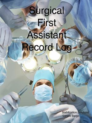 Surgical First Assistant Record Log  Walmartcom