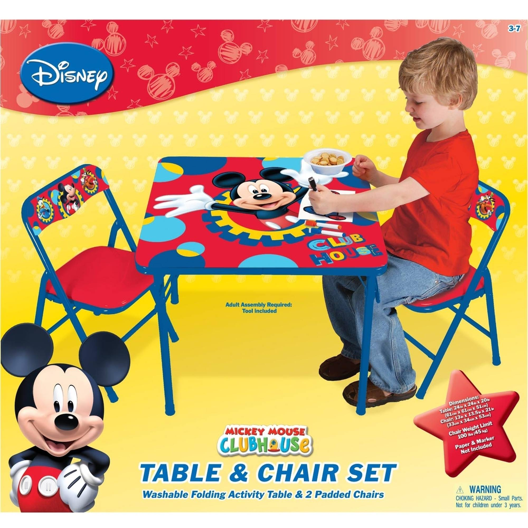 Mickey Mouse Chairs For Toddlers Disney Mickey Mouse Playground Pals Activity Table Set