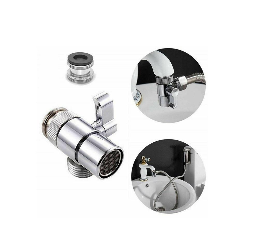 head faucet adapter diverter valve water tap connector kitchen sink splitter walmart com