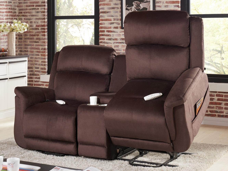 Serta Comfort Lift Hampton Dual Lift Chair Loveseat