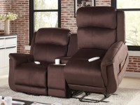Serta Comfort Lift Hampton Dual Lift Chair Loveseat ...